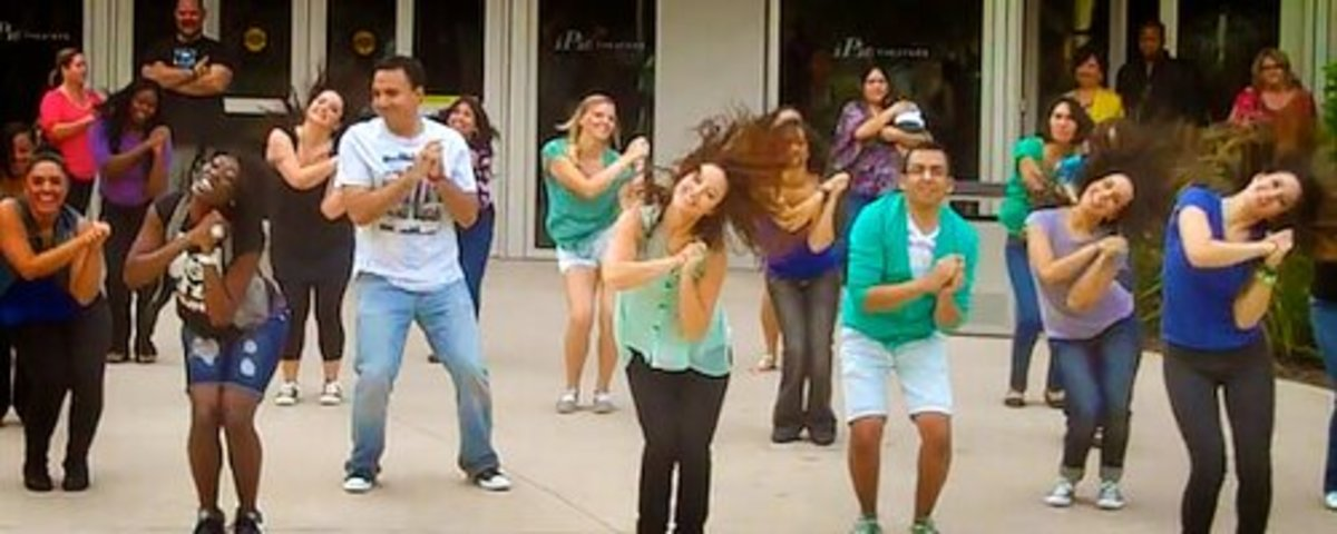 Nowadays, flash mob dances are even being used for wedding proposals sometimes.