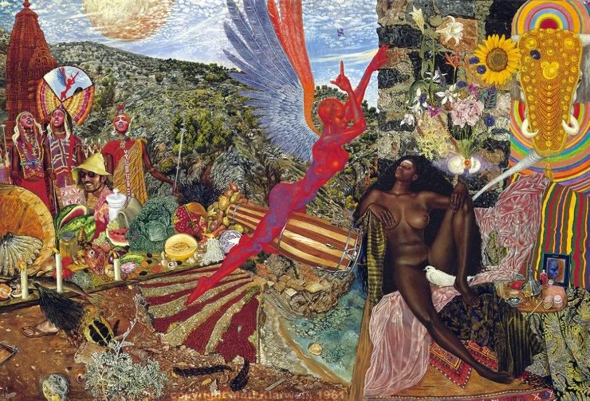 Mati Klarwein: Annunciation, 1961