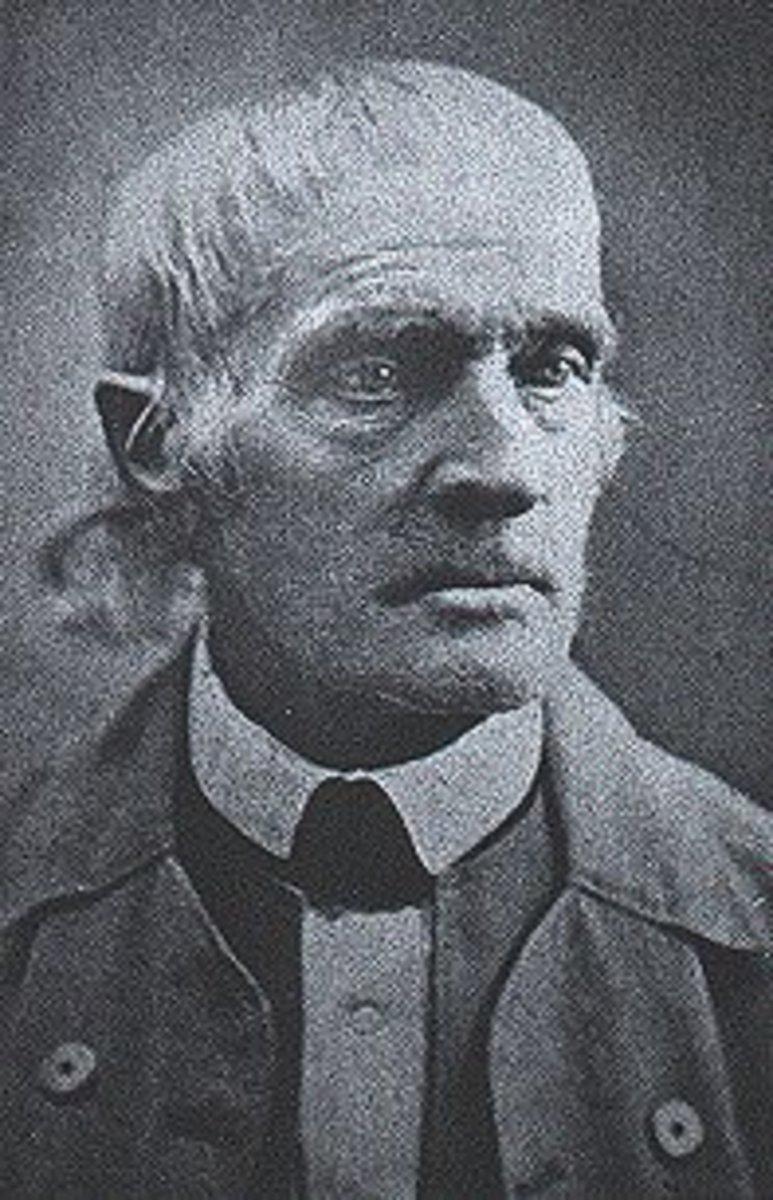Elder Joseph Brackett. Image Wikipedia