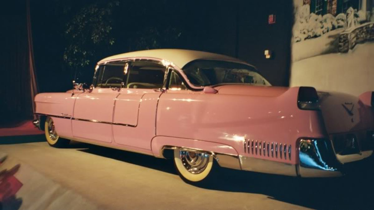 The 1955 Pink Cadillac