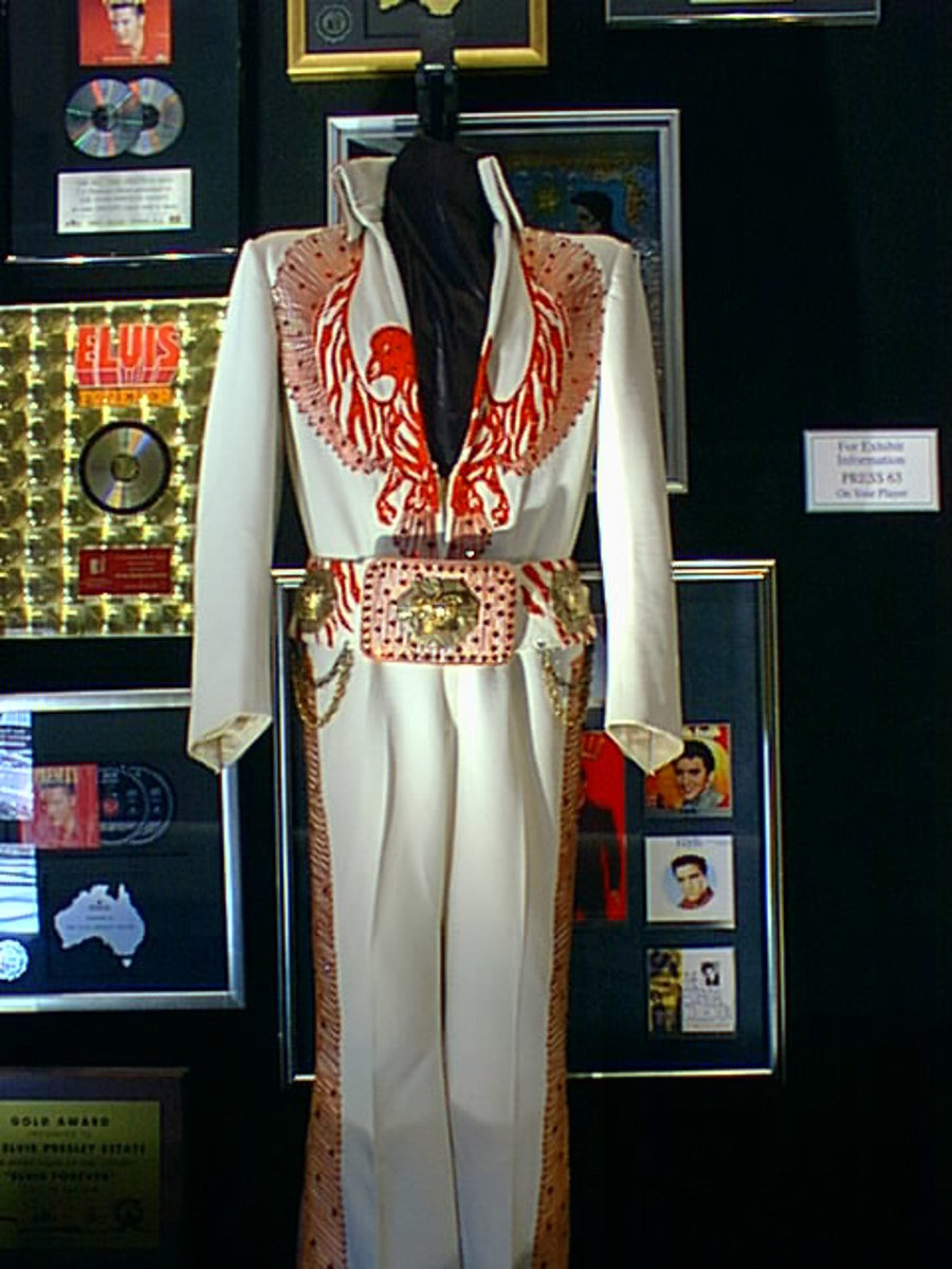 One of Elvis' Stage Costumes