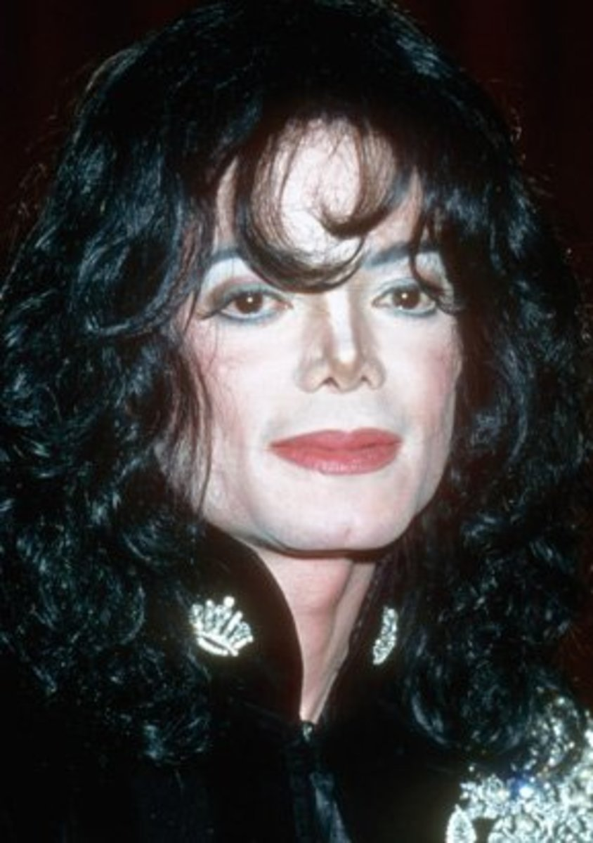 Michael jackson cleft chin