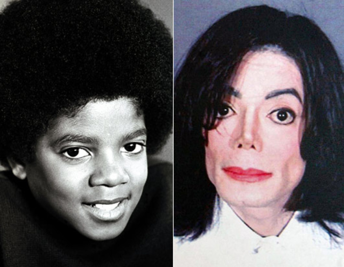 the changing face of michael jackson spinditty