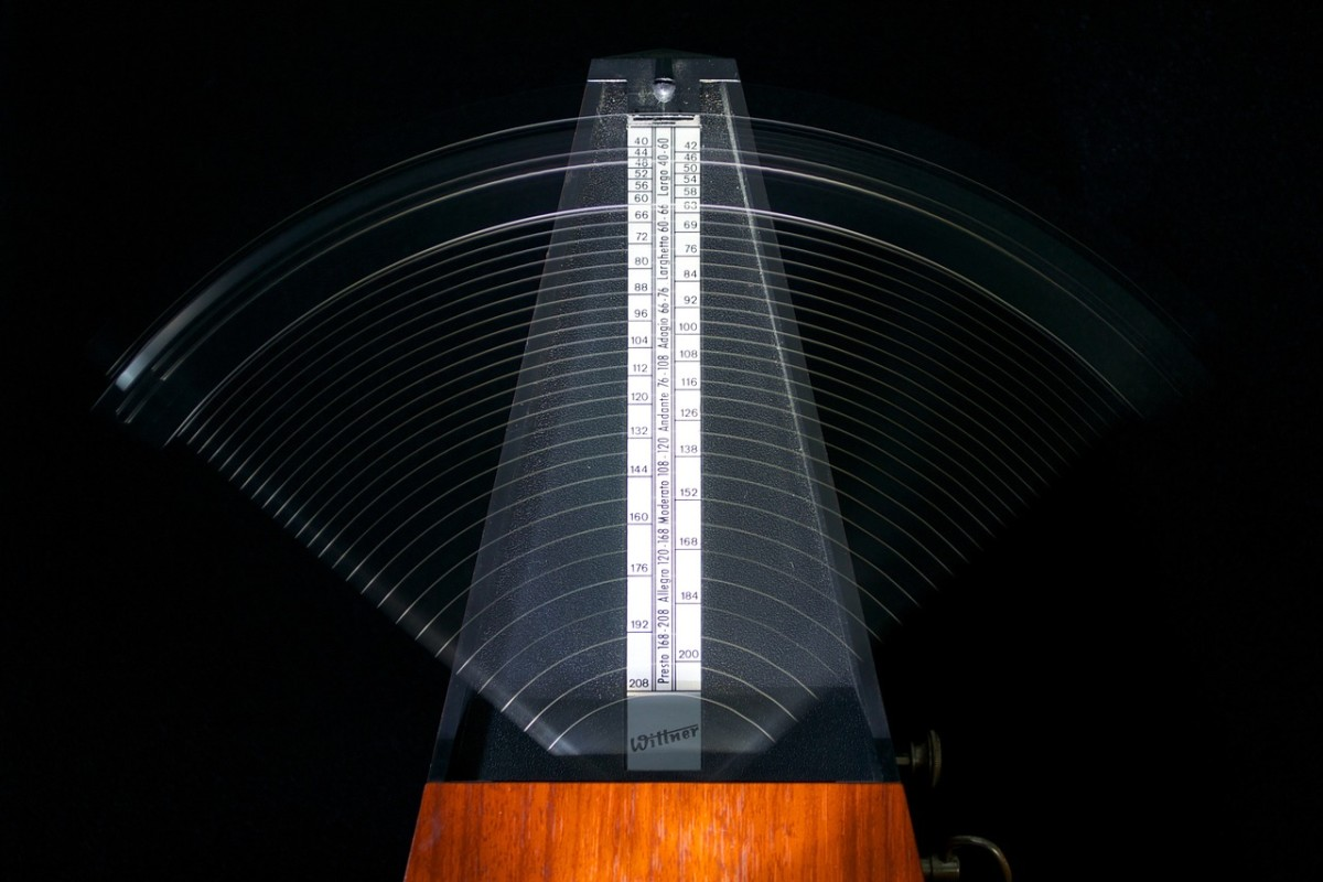 The most helpful tool for developing speed and perfect rhythm  is the use of the metronome.