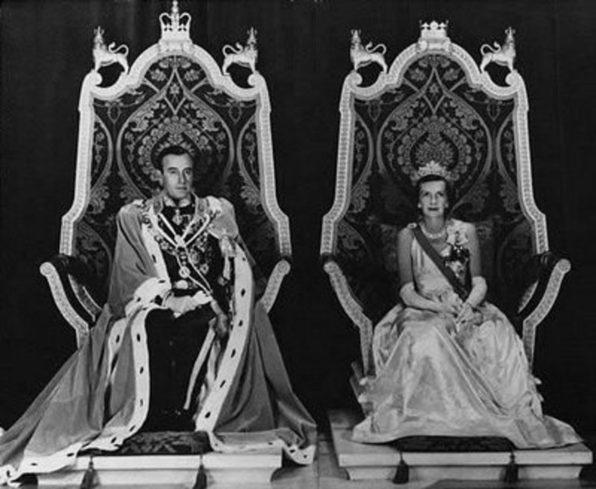 The Viceroy and Vicereine, 1948
