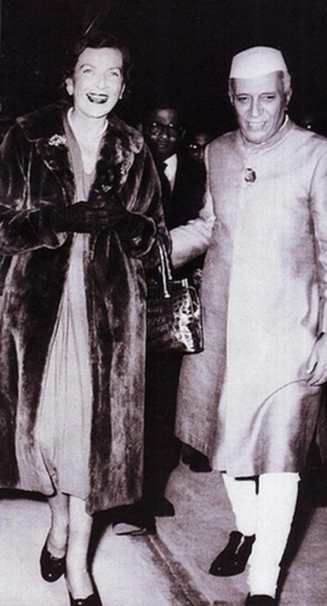 Edwina with Nehru