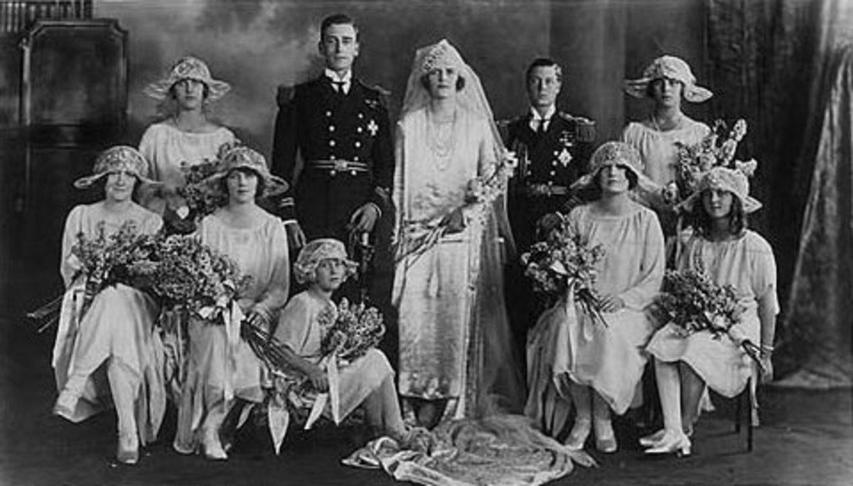 Wedding 1922, The future Edward VIII was best man
