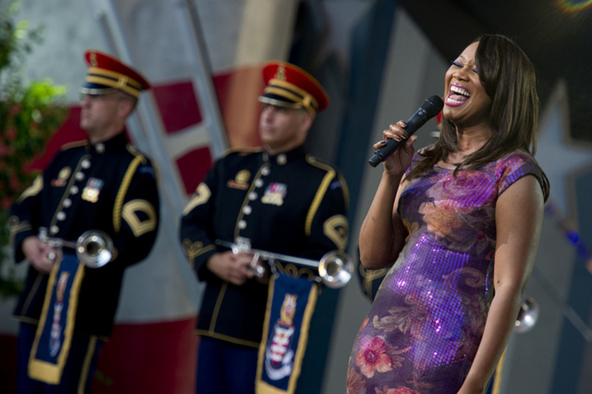 Yolanda Adams performs at a National Memorial Day Concert in Washington D.C.