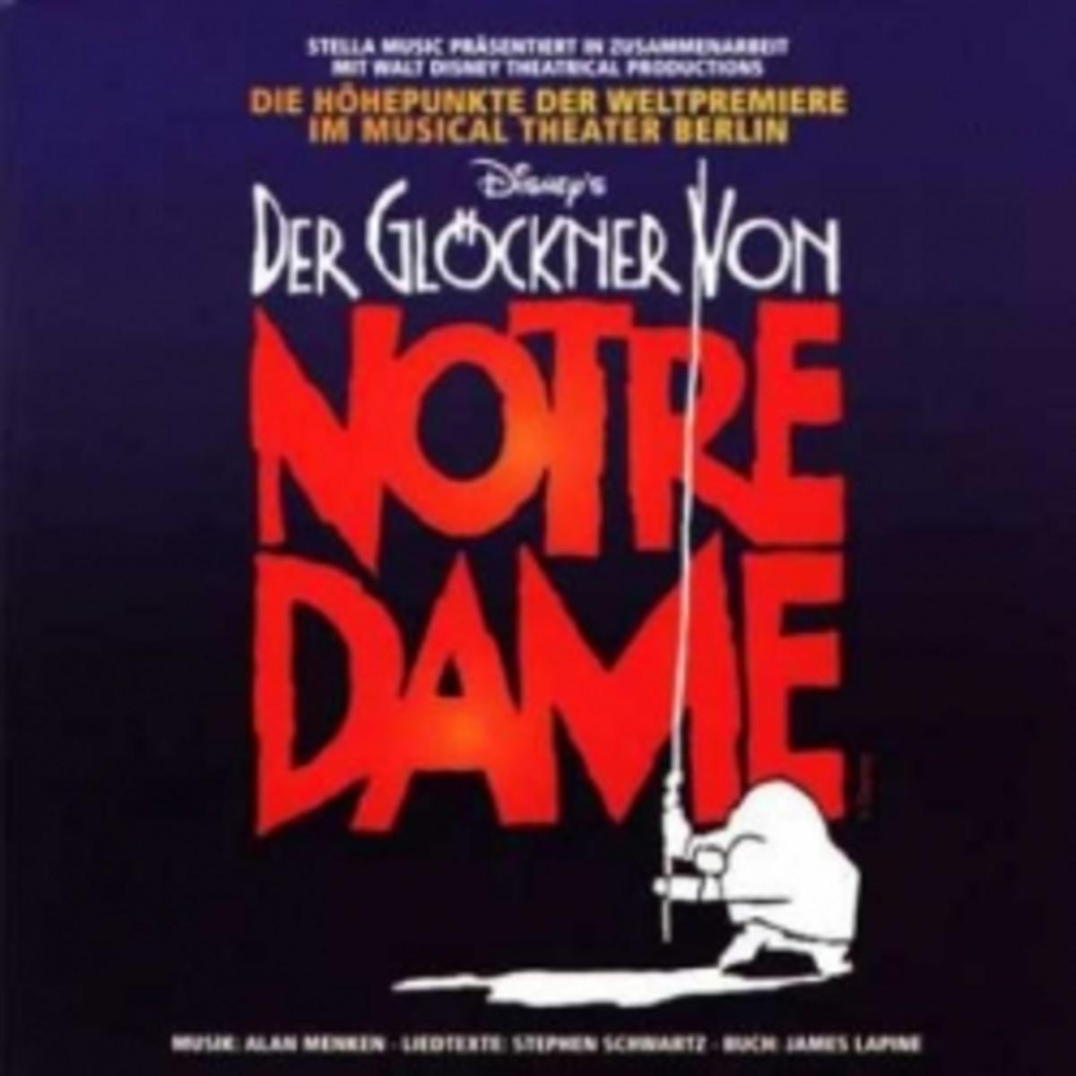 Der Glockner von Notre Dame Soundtrack cover