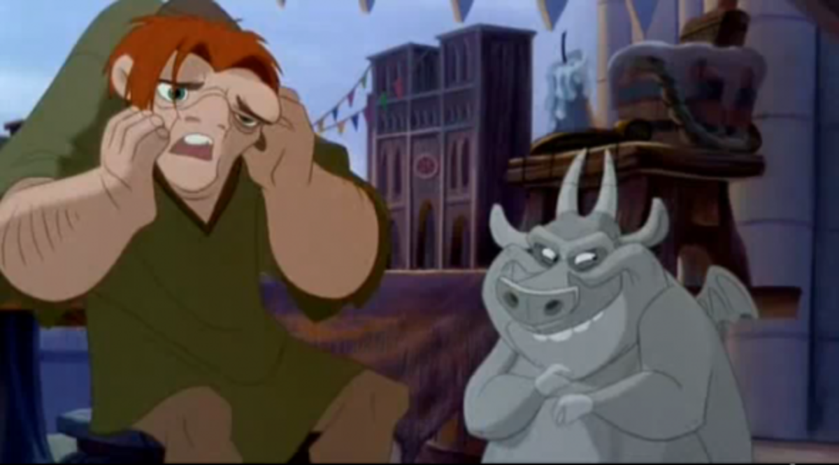 Disney Quasimodo and Hugo