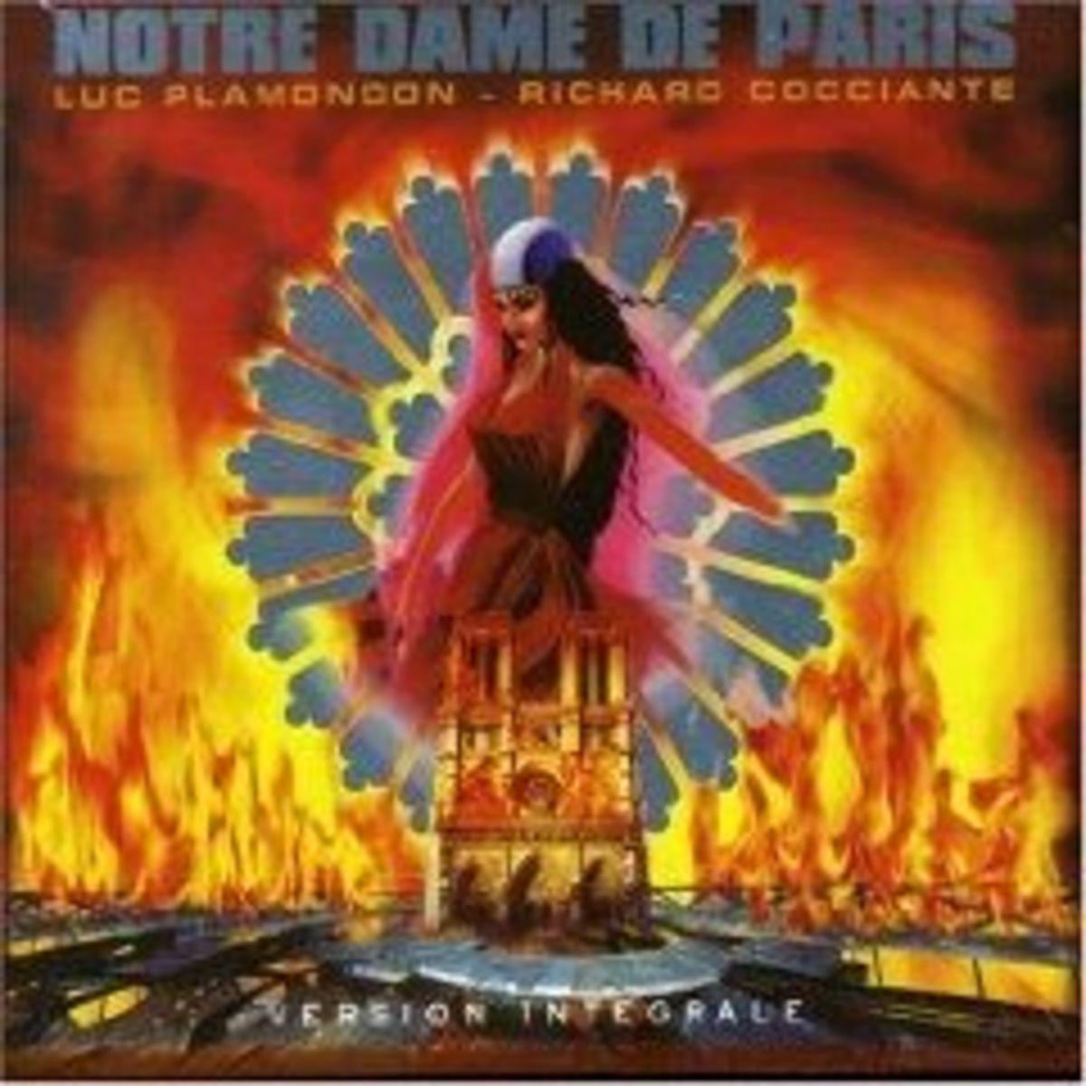 Notre dame de Paris CD cover