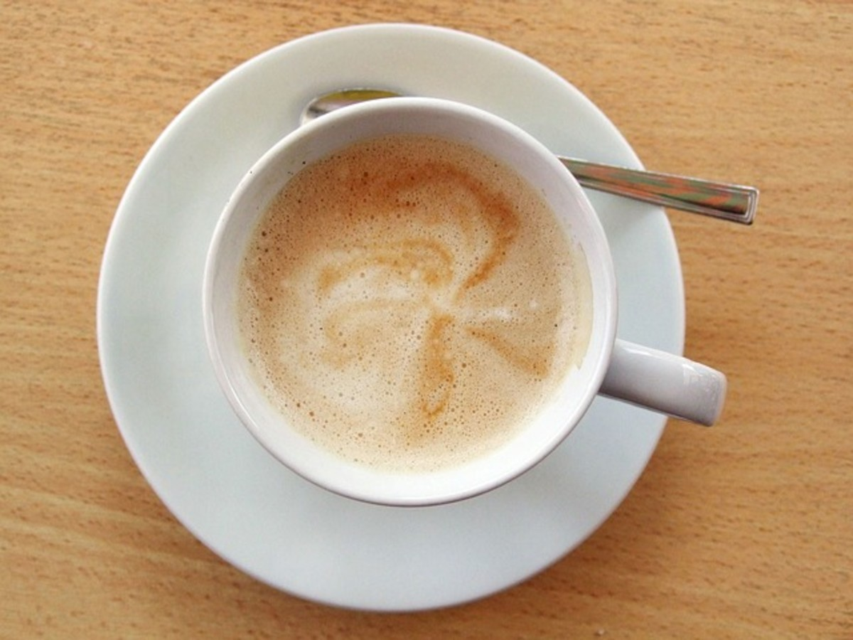 There's nothing like listening to jittery music when you're drinking a hot cup of coffee.