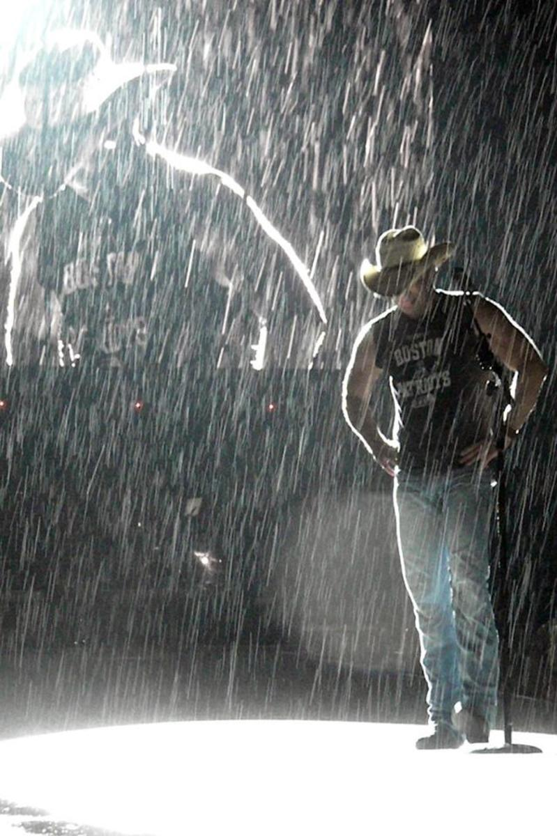 Kenny Chesney - Country Music Songs About Rain