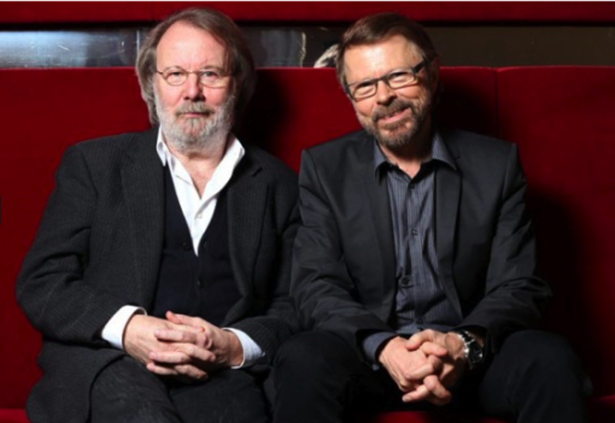 Benny and Bjorn in 2013, Guests at Eurovision. Eurovision was a big part of Abba's success story, after they won the contest in 1974, marking Sweden's first victory.