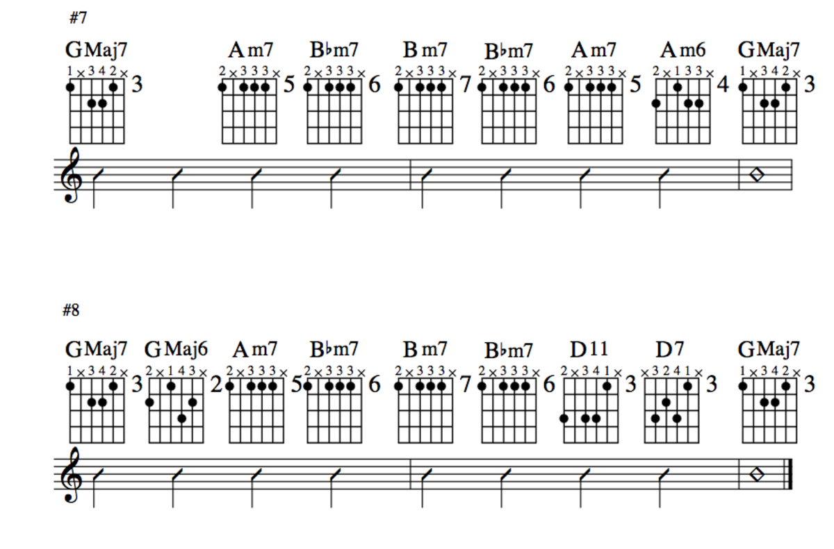 Jazz Guitar Lessons • Jazz Chord Substitution • Stormy Monday ...