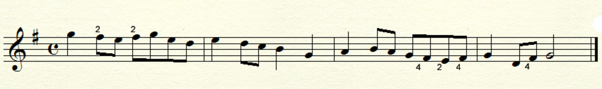Example in G major