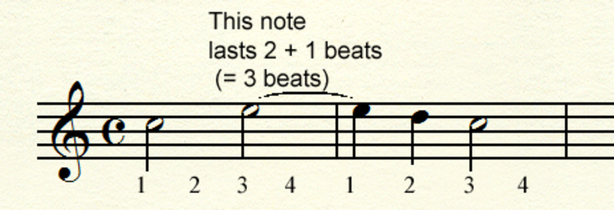 Tied note