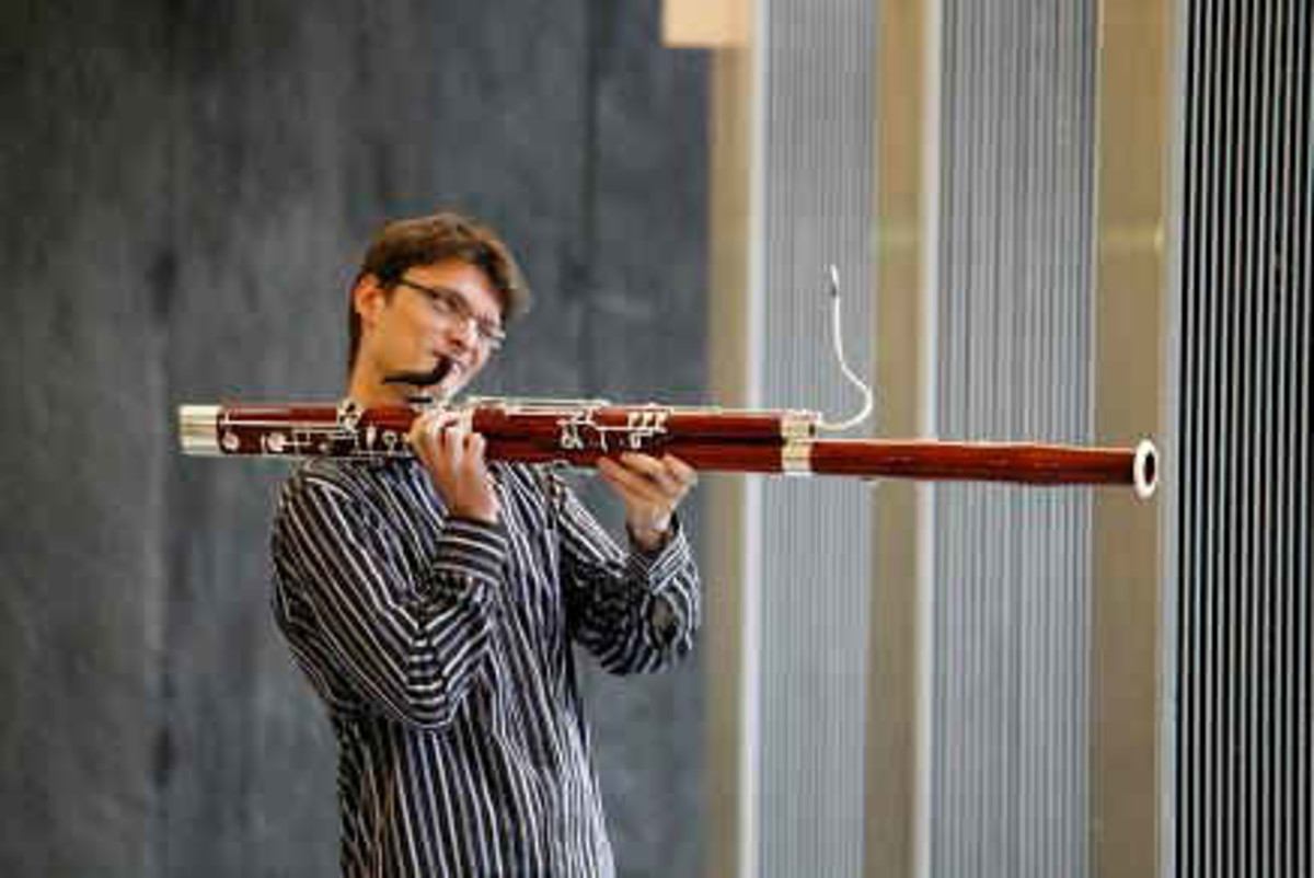 "Marc Trenel, winner of the Sigi Muller bassoon prize, keeps it relaxed.  And they wonder why bassoon gets stereotyped as ""the clown of the orchestra."""