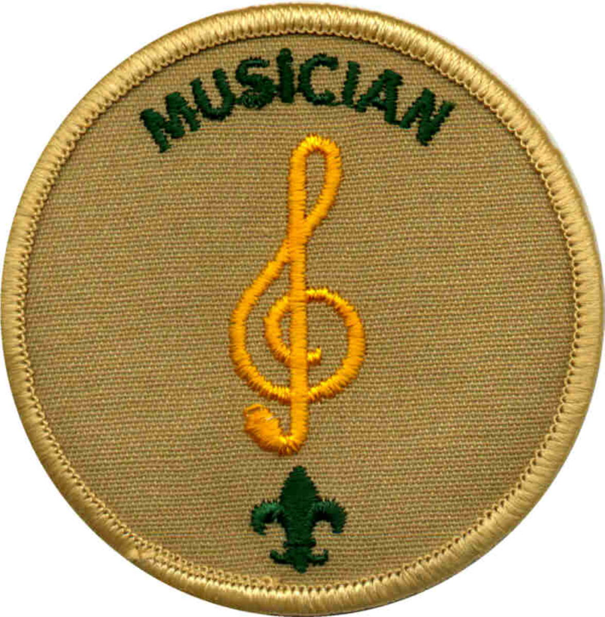 The Musician merit badge.  Surely a Scout keeps an honest tempo?