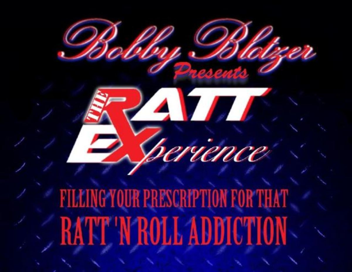 Coming soon to a bowling alley or a Chuck E. Cheese near you - Bobby Blotzer's RATT EXPERIENCE!