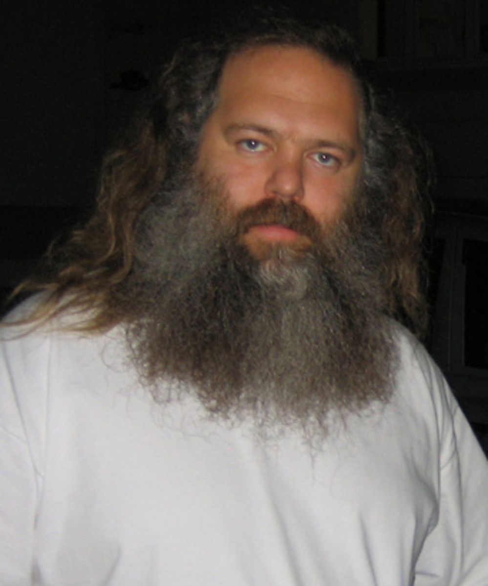 The record producer, Rick Rubin. Frustrated with being seen as an artist who's best work was behind him, Cash turned to Rubin to rekindle with creative spark in the 90's. The results were extraordinary.