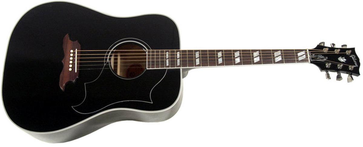 The Elvis Presley Dove guitar.