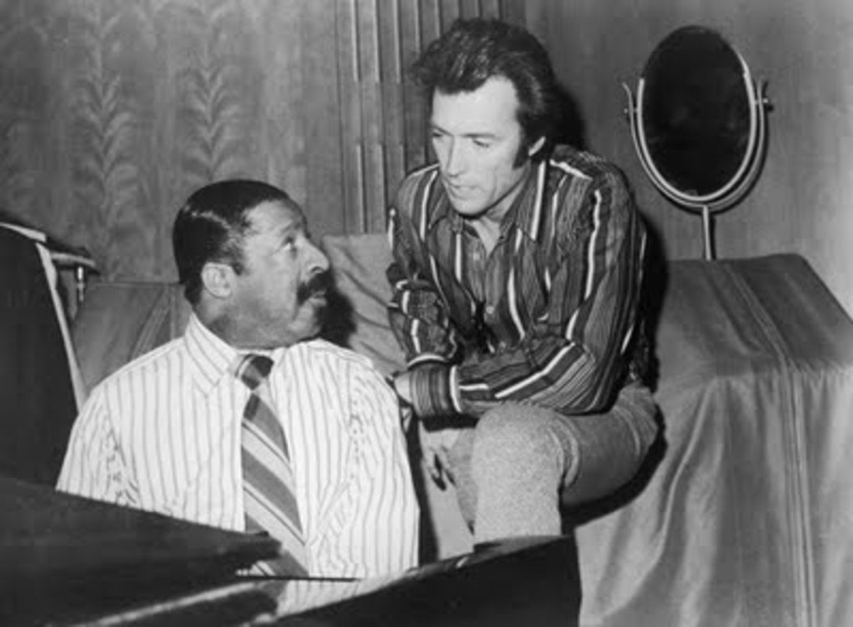 Clint Eastwood and Errol Garner