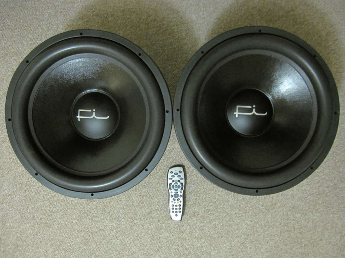 Fi Car Audio Q18 Subwoofer Drivers.