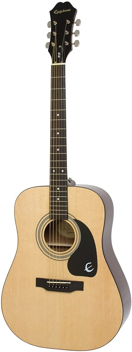 The Epiphone DR-100 Acoustic Guitar