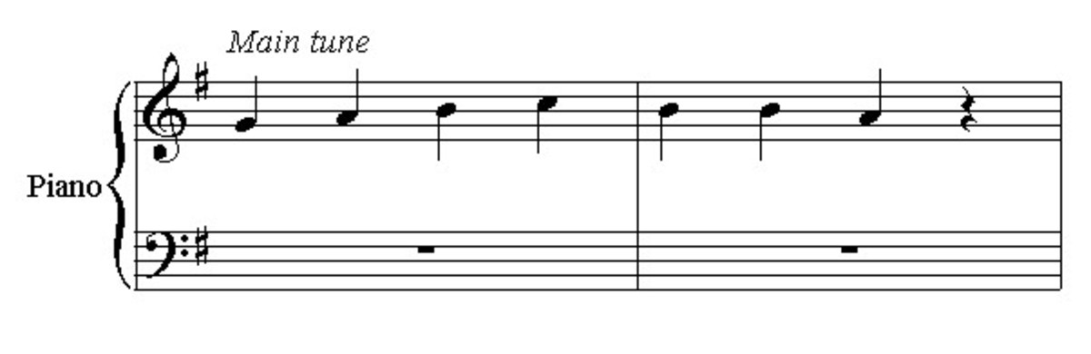 Here's a basic tune to try to harmonize