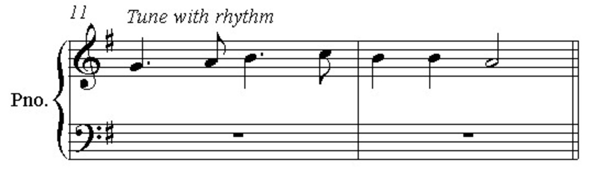 Give the tune a more interesting rhythm