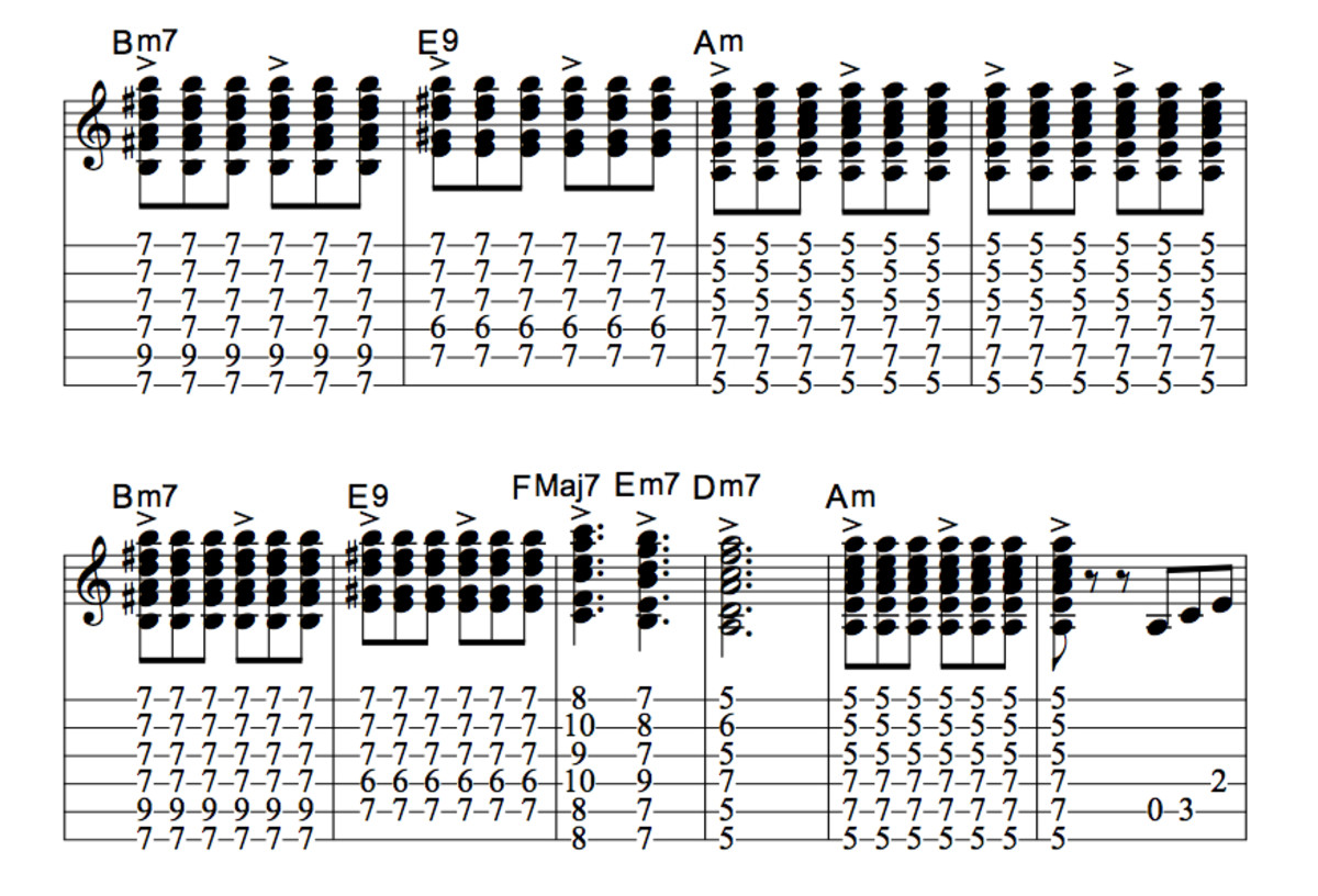 how to play still got the blues chords