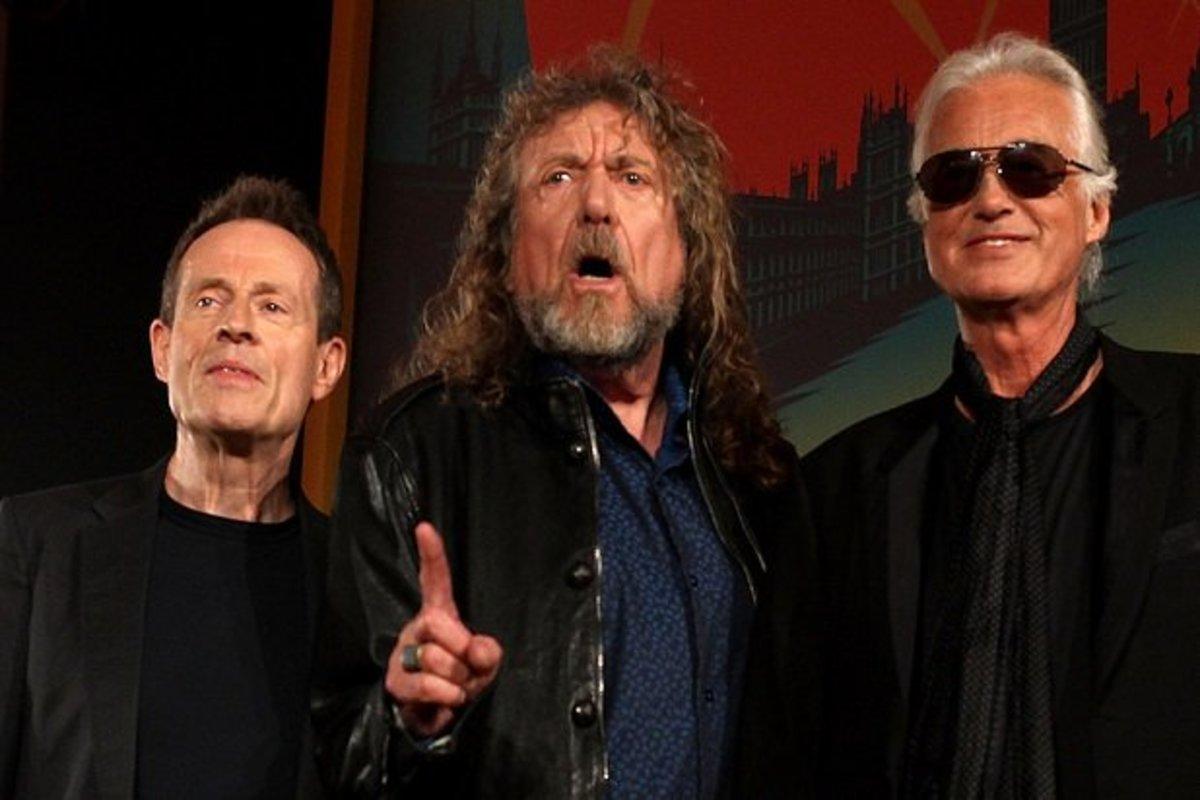 Surviving members of Led Zeppelin
