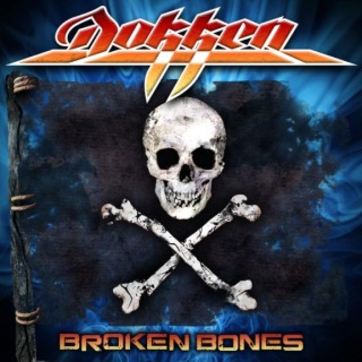 """""""Broken Bones"""" album cover (2012)"""