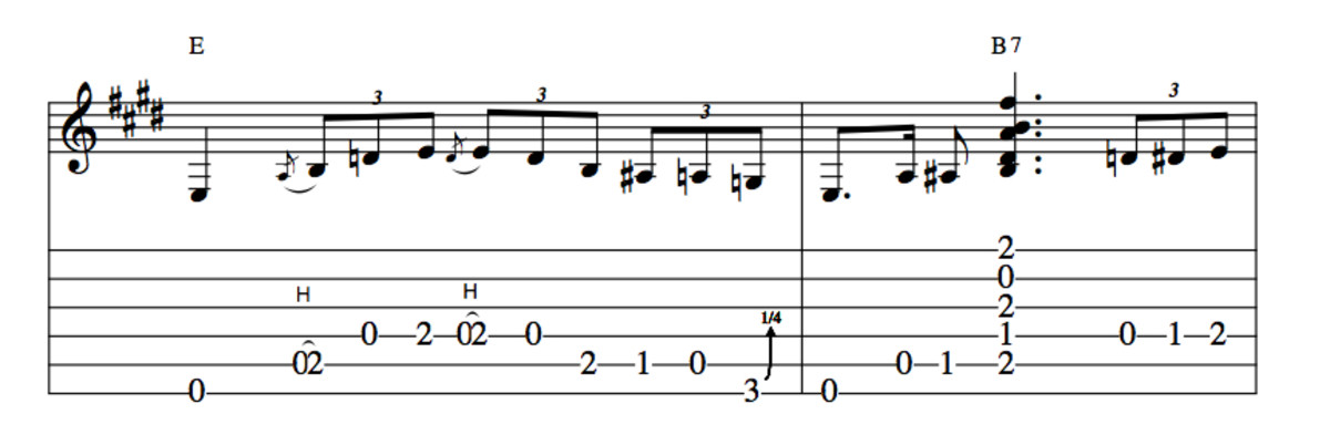 Blues Guitar Lessons • Blues Turnarounds in E