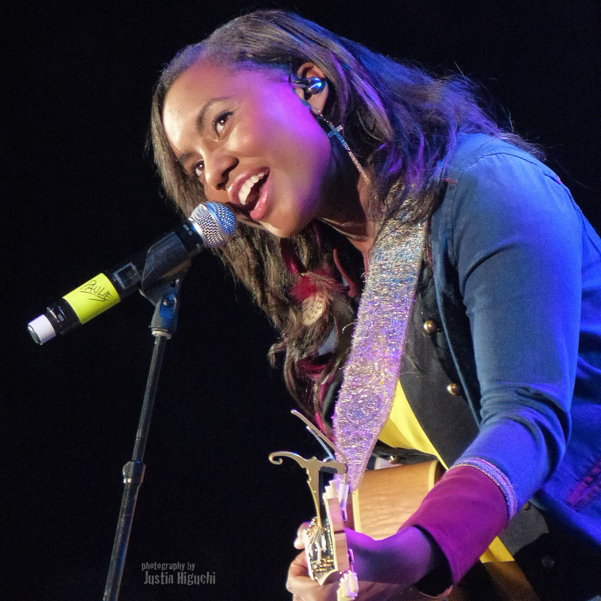Jamie Grace performs as part of The Road Show in Anaheim, California.
