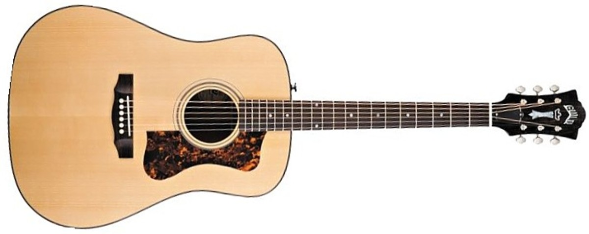 The Guild D-40 Jubilee Guitar, mahogany and red spruce.