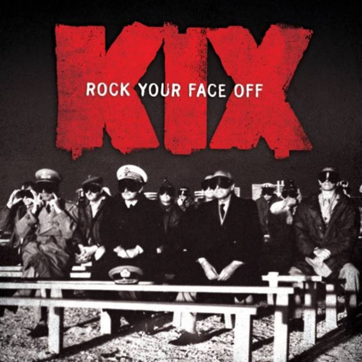 """Rock Your Face Off"" CD cover"