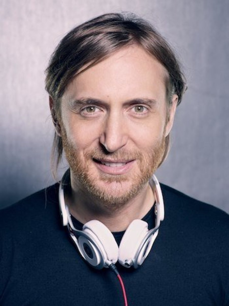 The French disc jockey David Guetta.