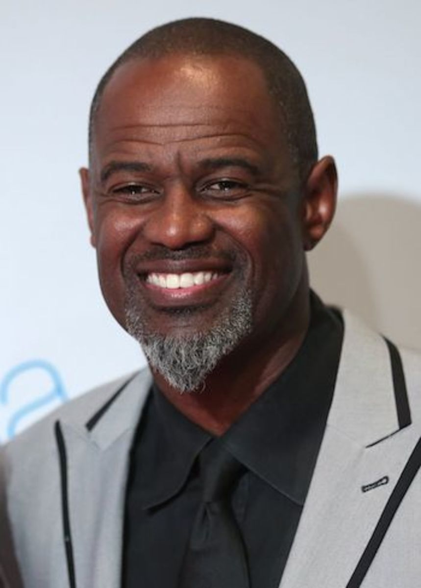 Brian McKnight at Celebrity Fight Night XXIII in Phoenix, Arizona.