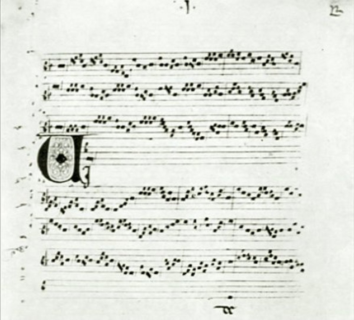 This a copy of the music to Perotin's version of Viderunt Omnes