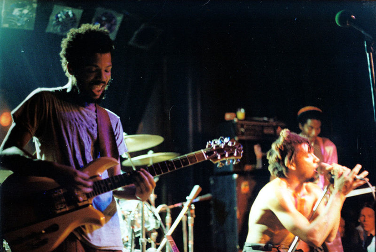 Bad Brains performing at Nightclub 9:30, Washington, DC on April 4th, 1983.