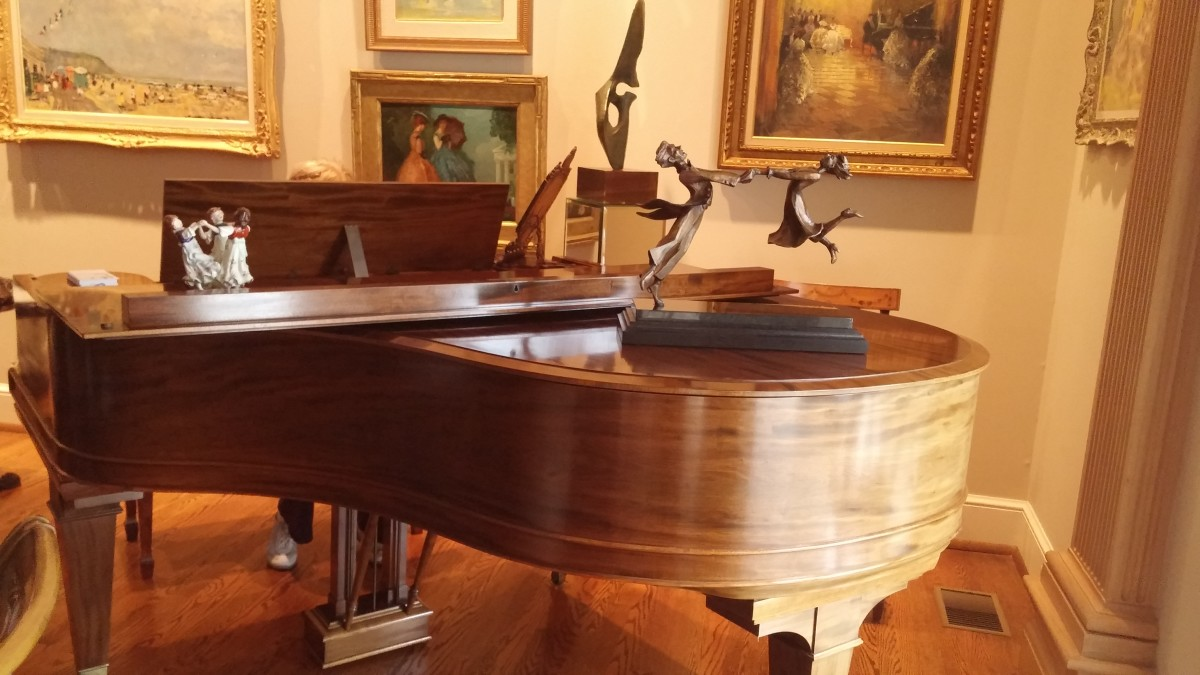 Pianos must be regularly tuned to maintain a lovely tone.  Depending on the condition of the instrument recommended tuning is 2 to 4 times a year.
