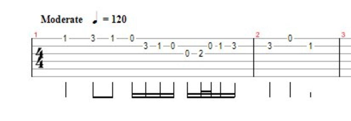 Tab duration symbols