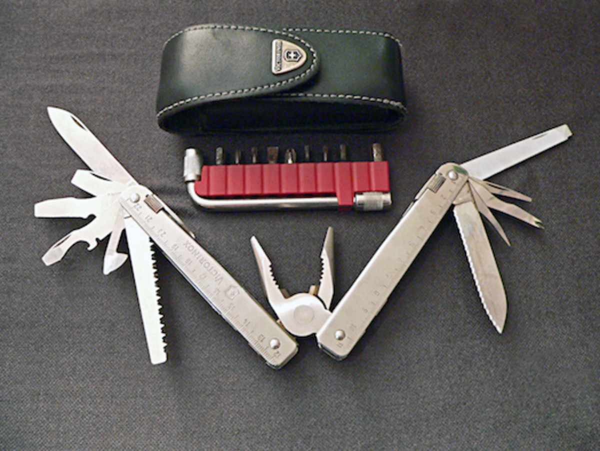 Multitools can help you fix damaged gear on the go!