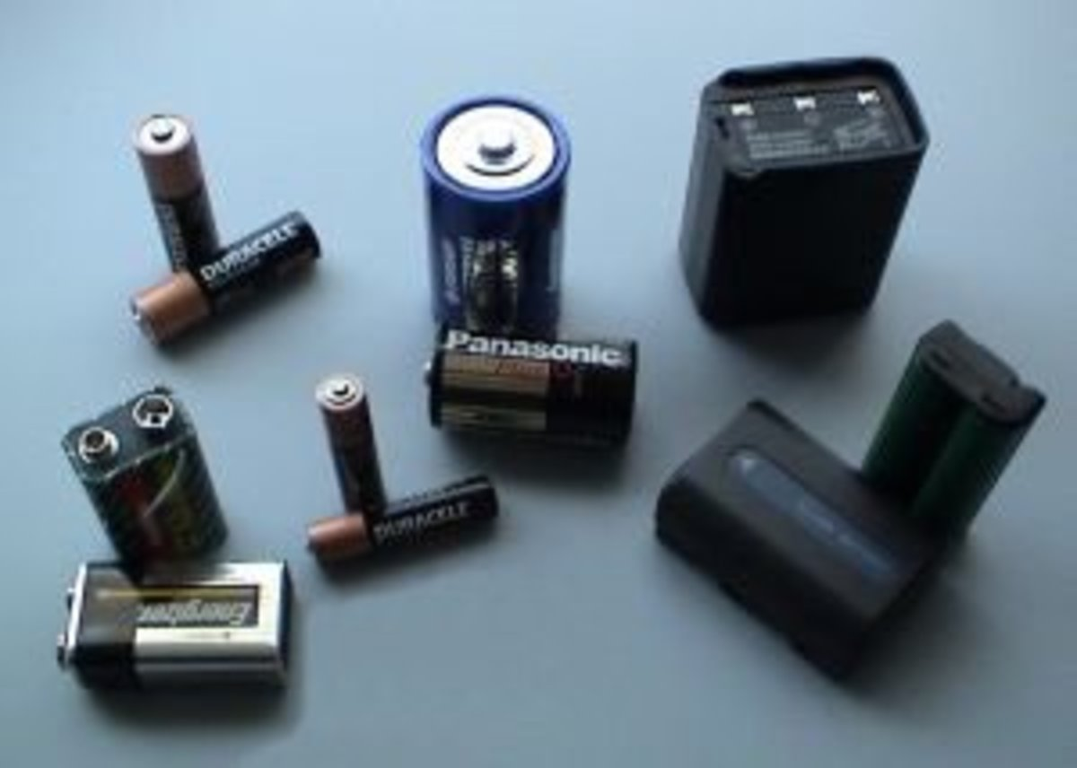 Batteries are needed for a a lot of musical equipment. You'll need an assortment of many different kinds.