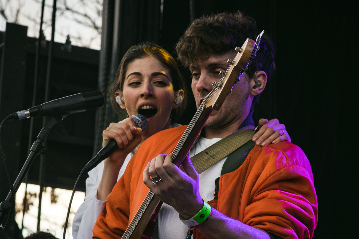 Here is the band performing at the Treefort Music Fest in 2016.