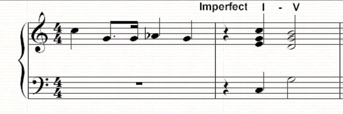 An imperfect I-V cadence