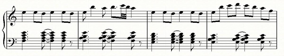 A new melodic idea...