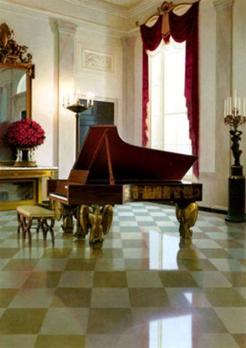 A truly grand piano in every sense of the word